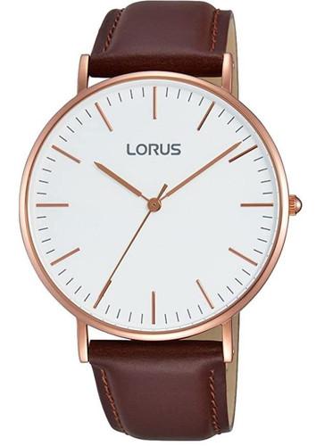 Lorus Men's Analogue Quartz Watch with Leather Strap RH880BX9