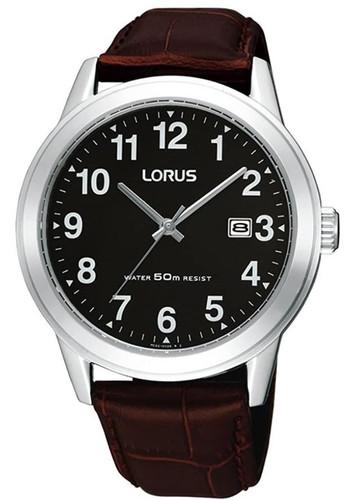 Lorus Men's Analogue Quartz Watch with Leather Strap RH927BX9