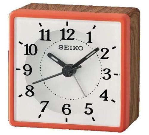 Seiko Bedside Alarm Clock | QHE175R | Amber Trading UK