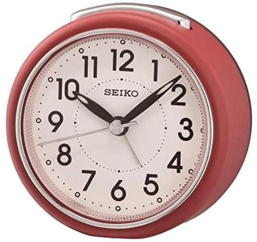 Seiko Bedside Alarm Clock | QHE125R | Amber Trading UK