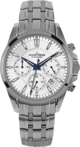 Jacques Lemans Liverpool Titan 1-1703E Gents Titanium Chronograph Quartz Analog Watch