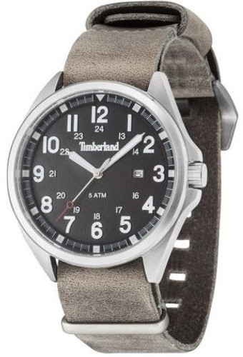 Timberland Raynham Men's Gents Analog Quartz Watch with Date and Brown Leather Strap - TBL 14829JS-02