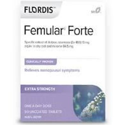 Flordis Femular Forte for Menopause Relief 30 Tablets Flordis SuperPharmacyPlus