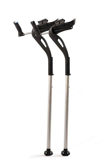 MD Crutch Pair or Innovative Forearm Crutch or Black Mobility Designed SuperPharmacyPlus