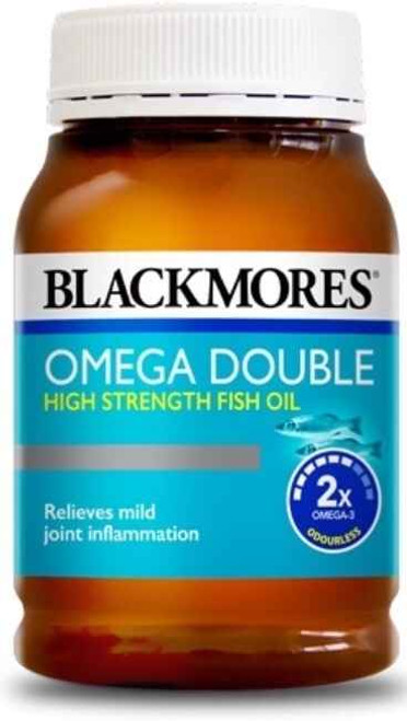 Blackmores Omega Double High Strength Fish Oil 200 Capsules Blackmores SuperPharmacyPlus