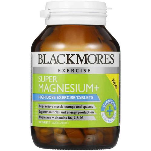 Blackmores Super Magnesium 100 Tablets Blackmores SuperPharmacyPlus