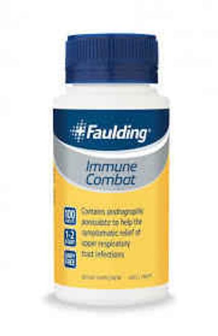 Faulding Immune Combat 100 Tablets Faulding SuperPharmacyPlus