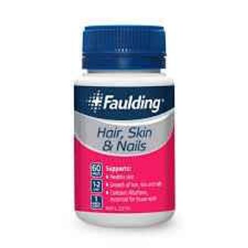Faulding Hair Skin Nails 60 Tablets Faulding SuperPharmacyPlus