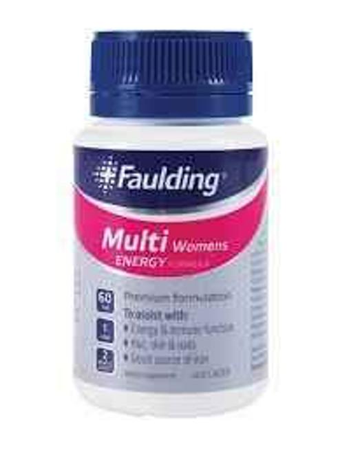 Faulding Multi Womens Energy 60 Tablets Faulding SuperPharmacyPlus