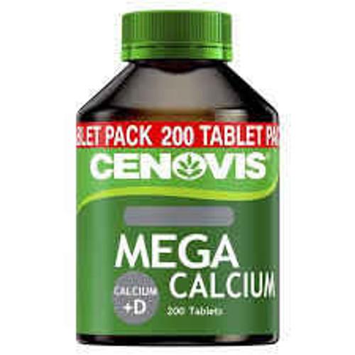 Cenovis MEGA Calcium D Tablets Value Pack 200 Tablets Cenovis SuperPharmacyPlus