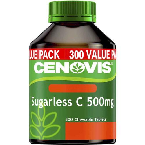 Cenovis Vitamin C 500mg Sugarless 300 Tablets Cenovis SuperPharmacyPlus