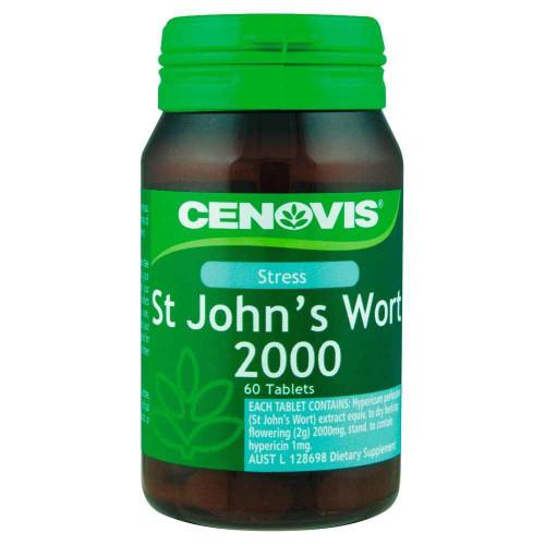Cenovis St Johns Wort 2000 60 Tablets Cenovis SuperPharmacyPlus