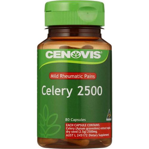 Cenovis Celery 2500 80 Capsules Cenovis SuperPharmacyPlus