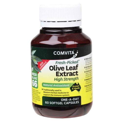 Comvita Olive Leaf Extract 60 Capsules Comvita SuperPharmacyPlus