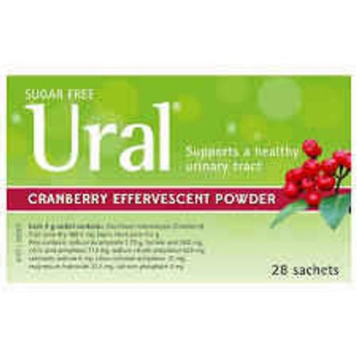 Ural Cranberry 28 Sachets Aspen SuperPharmacyPlus