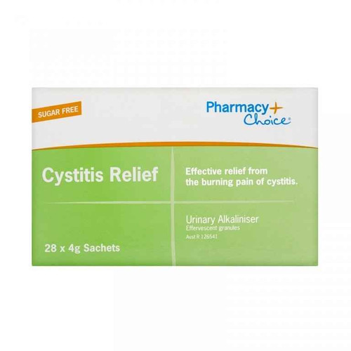 Pharmacy Choice Cystitis Relief 28 x 4g Sachets Pharmacy Choice SuperPharmacyPlus