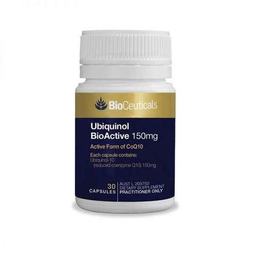 Bioceuticals Ubiquinol BioActive 150mg 30 Capsules BioCeuticals SuperPharmacyPlus