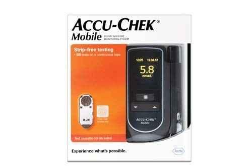 Accu-chek Mobile Glucose Meter Kit Accu-Chek SuperPharmacyPlus