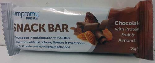 Impromy Snack Bar Chocolate Fruit and Almonds 35g Impromy SuperPharmacyPlus