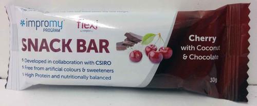 Impromy Flexi Snack Bar Cherry with Coconut and Chocolate 30g Impromy SuperPharmacyPlus