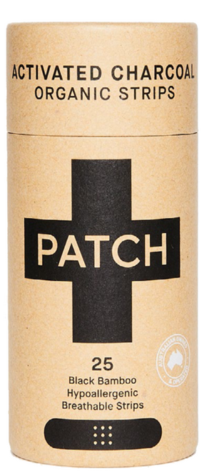 PATCH Activated Charcoal Bamboo Adhesives 25 Strips Nutricare SuperPharmacyPlus