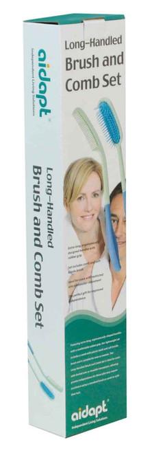 Aidapt Long-Handled Brush and Comb Set Aidapt SuperPharmacyPlus