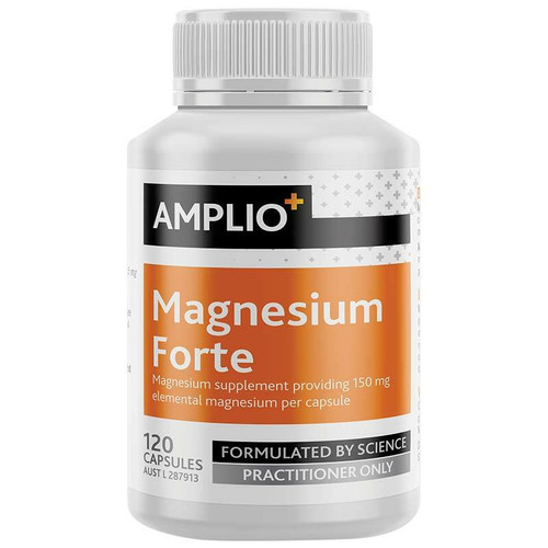Amplio Magnesium Forte 120 Capsules Apotex Pty Ltd SuperPharmacyPlus