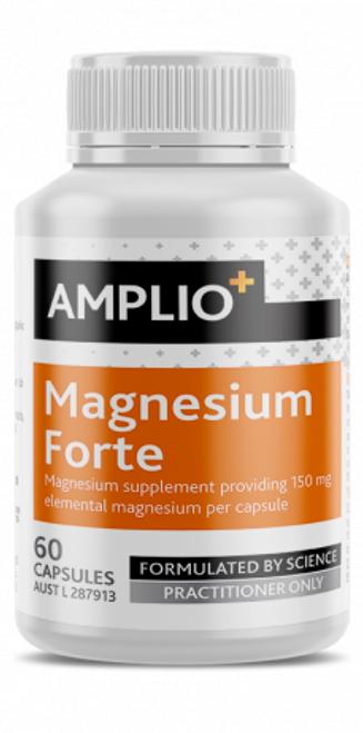 Amplio Magnesium Forte 60 Capsules Apotex Pty Ltd SuperPharmacyPlus
