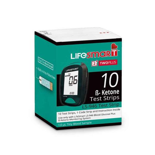 LifeSmart Ketone 10 Test Strips Genesis Biotech Pty Ltd SuperPharmacyPlus