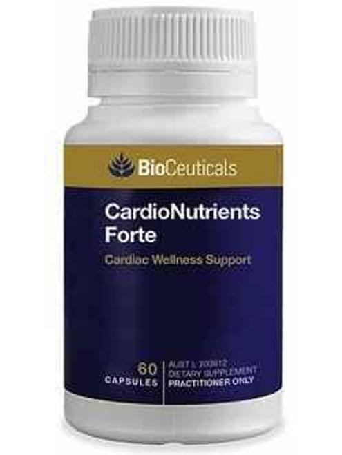 Bioceuticals CardioNutrients Forte 60 Capsules BioCeuticals SuperPharmacyPlus