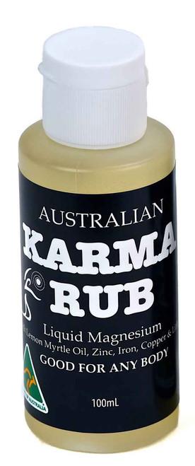 Karma Rub Liquid Magnesium 100mL Karma Naturals SuperPharmacyPlus
