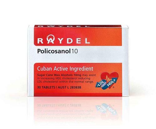 Raydel Policosanol 10 Tablets Raydel SuperPharmacyPlus