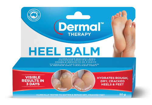 Dermal Therapy Heel Balm 50g Dermal Therapy SuperPharmacyPlus