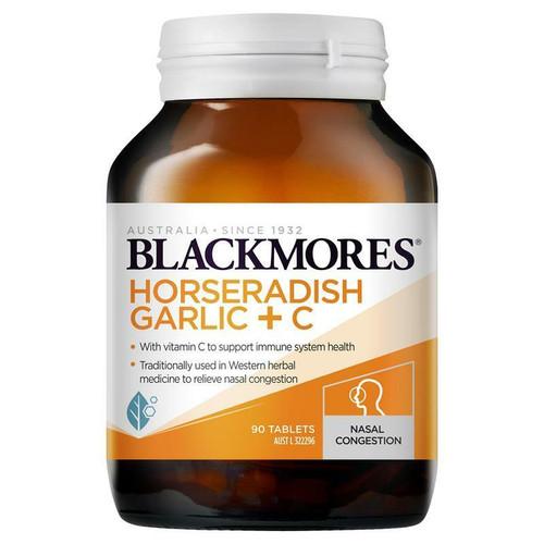 Blackmores Horseradish, Garlic C 90 Tablets Blackmores SuperPharmacyPlus
