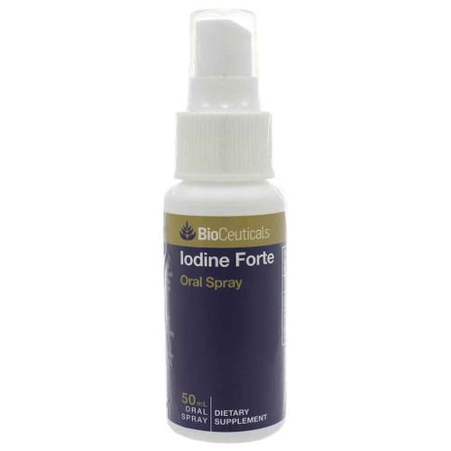Bioceuticals Iodine Forte 50 mL Oral Spray BioCeuticals SuperPharmacyPlus