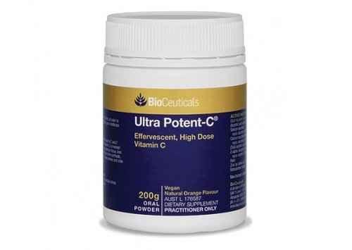 Bioceuticals Ultra Potent-C Powder 200g BioCeuticals SuperPharmacyPlus