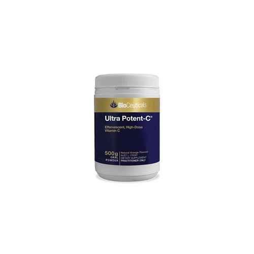 Bioceuticals Ultra Potent-C Powder 500g BioCeuticals SuperPharmacyPlus