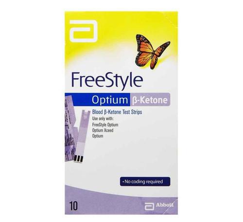 Abbott Freestyle Optium Ketone Strips 10 Abbott SuperPharmacyPlus
