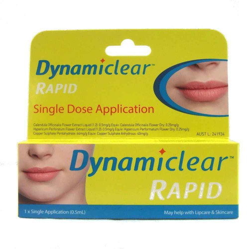 Dynamiclear Rapid One Dose Application Sci-chem International Pty Ltd SuperPharmacyPlus