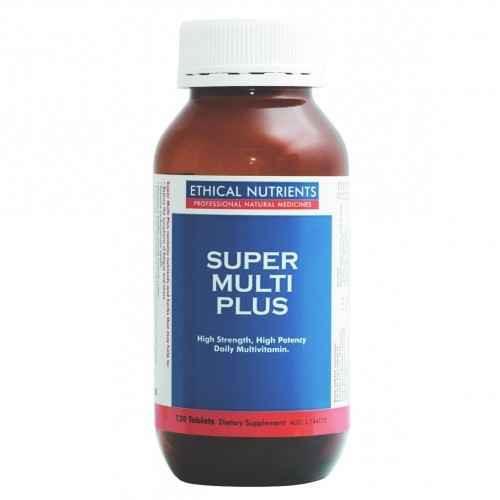 Ethical Nutrients Super Multi Plus 120 Tablets Ethical Nutrients SuperPharmacyPlus
