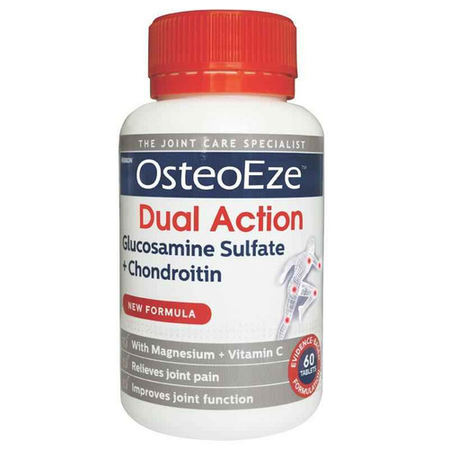 OsteoEze Dual Action 60 Tablets Perrigo Australia SuperPharmacyPlus
