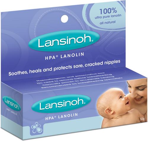 Lansinoh HPA Lanolin 50g tube Lansinoh SuperPharmacyPlus
