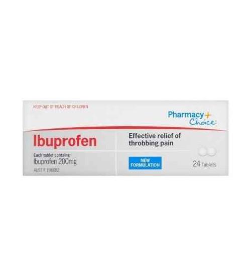 PC Ibuprofen 24 Tablets Pharmacy Choice SuperPharmacyPlus