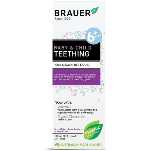 Brauer Baby And Child Teething 100ml Brauer SuperPharmacyPlus