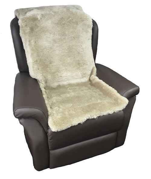 Sheepskin Overlay with Straps - Charcoal Rehab and Mobility Wholesalers SuperPharmacyPlus