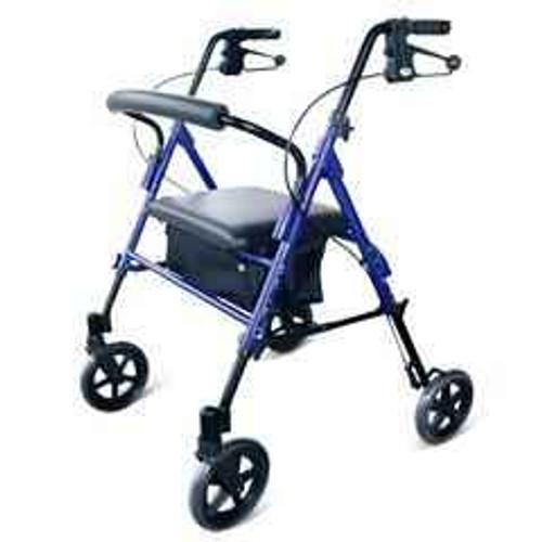 Heavy Duty Rollator 8 Wheels with adjustable seat height Days SuperPharmacyPlus