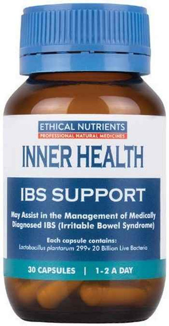 Ethical Nutrients Inner Health IBS Support 30 Capsules Ethical Nutrients SuperPharmacyPlus