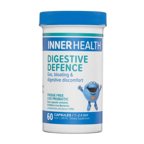 Ethical Nutrients Inner Health Digestive Defence 60 Capsules Ethical Nutrients SuperPharmacyPlus
