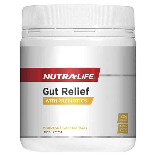 Nutra-Life Gut Relief 180g Oral Powder NUTRALIFE SuperPharmacyPlus