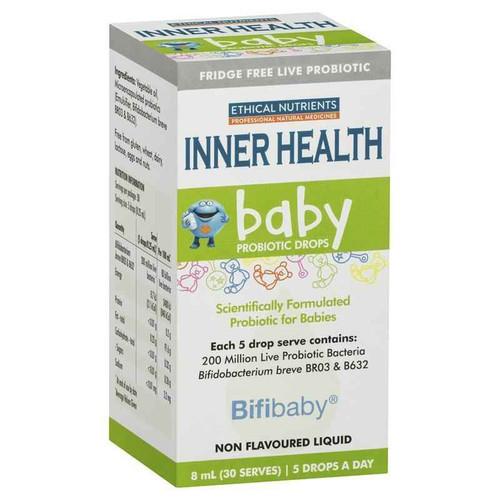 Ethical Nutrients Inner Health Baby Probiotic Drops 8ml Ethical Nutrients SuperPharmacyPlus